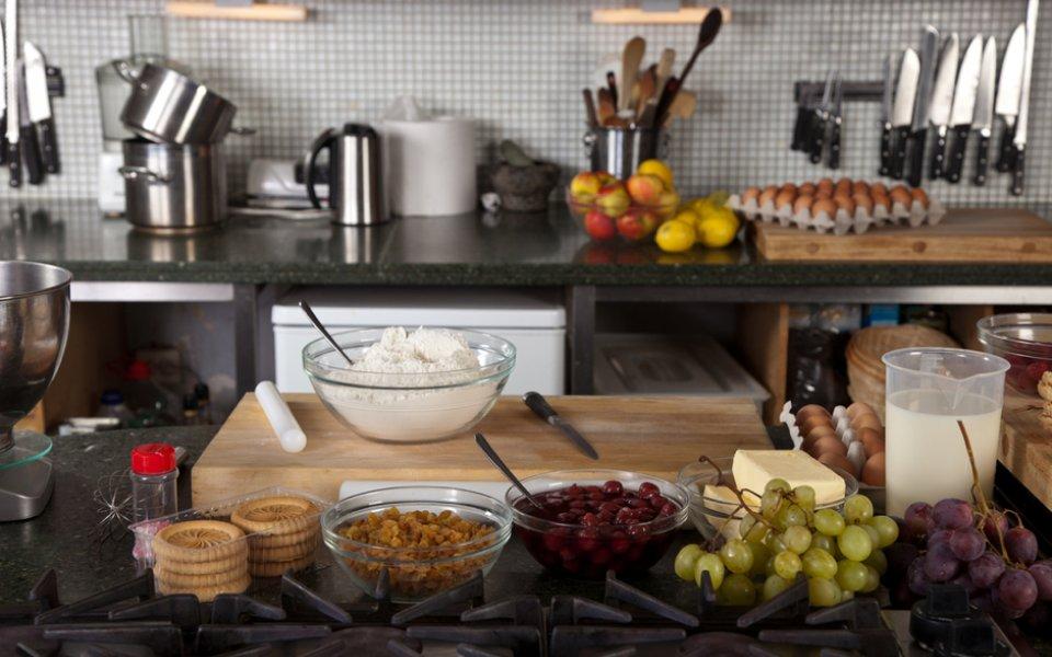 H σωστή οργάνωση της κουζίνας μας, προτού ξεκινήσουμε το μαγείρεμα