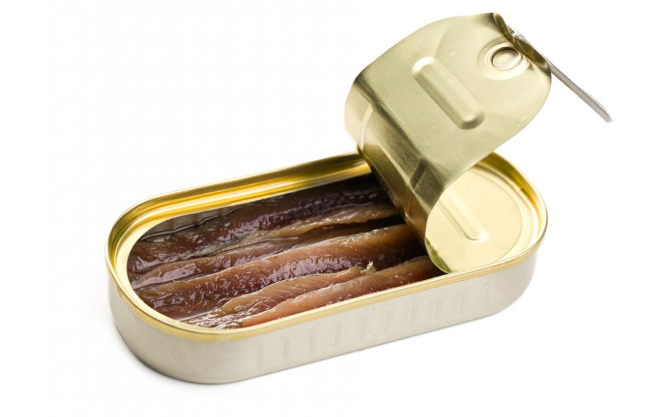 CURED ANCHOVIES