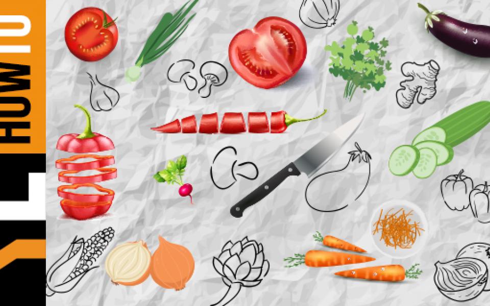 Πώς να κόψουμε τα λαχανικά
