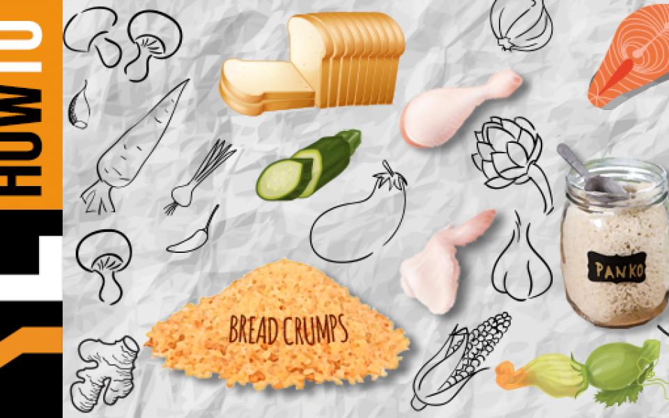 Η διαδικασία του παναρίσματος: πώς να πετύχουμε ωραία κρούστα στα τρόφιμα