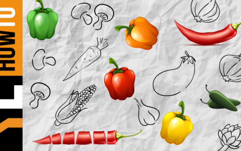 Πιπεριές: πώς να τις ψήσουμε και να βγάλουμε τις φλούδες