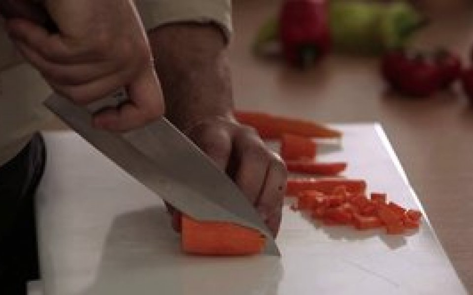 How to cut vegetables properly
