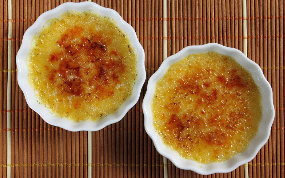 ΚΡΕΜ ΜΠΡΟΥΛΕ (crème brûlée)