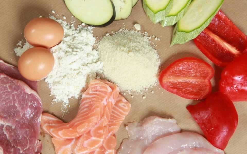 Foods suitable for being cooked in breadcrumbs