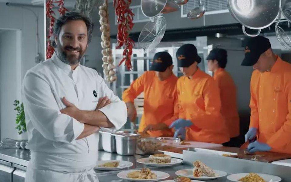 Νέα συνεργασία με την Κυπριακή αλυσίδα εστιατορίων ΖΟΡΠΑΣ.
