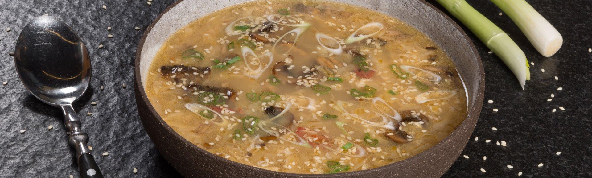 Κινέζικη καυτερή σούπα