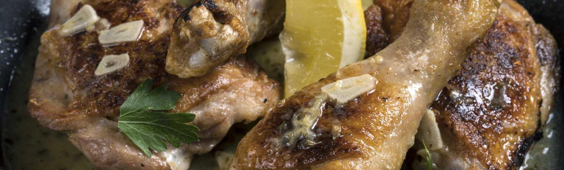 Κοτόπουλο λεμονάτο στο τηγάνι