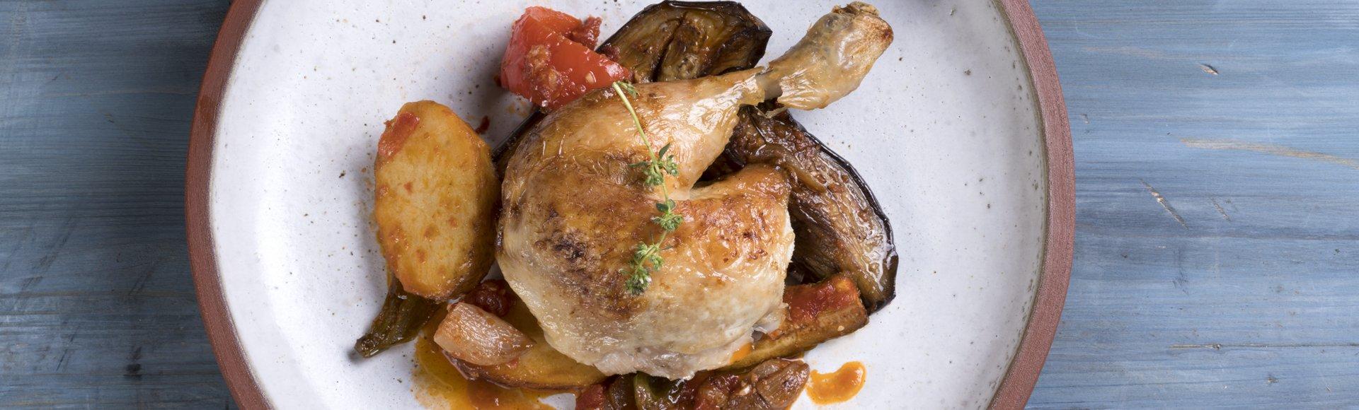 Κοτόπουλο με μπριάμ