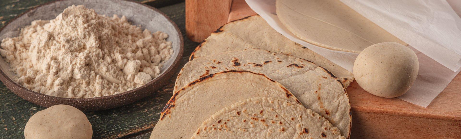 Τορτίγια από καλαμποκάλευρο (Masa Harina)