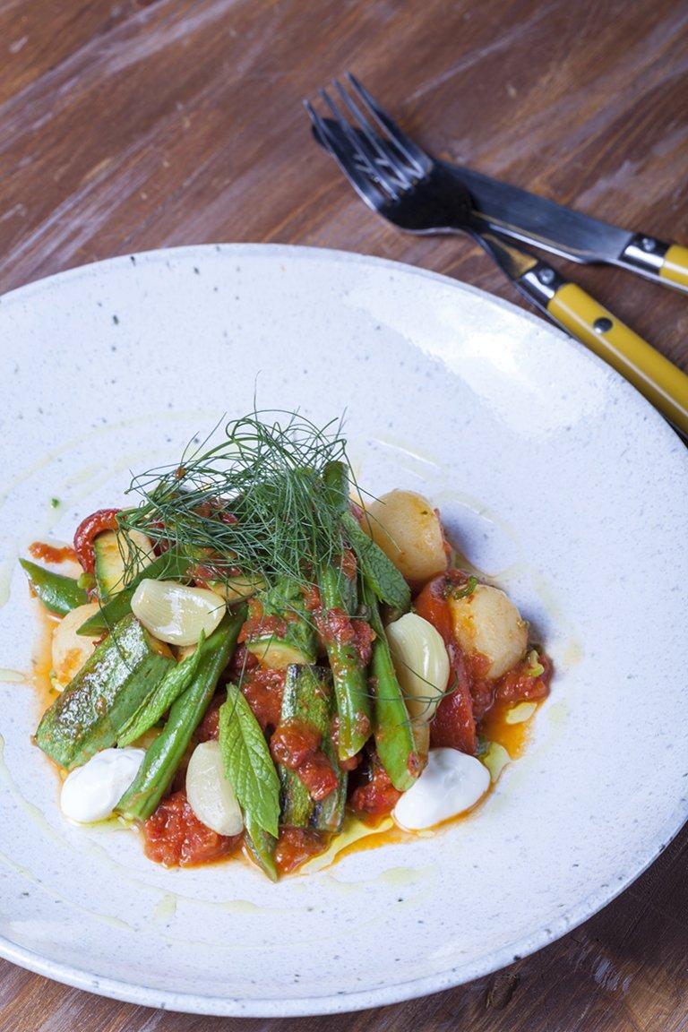 Τουρλού λαχανικών καλοκαιρινό