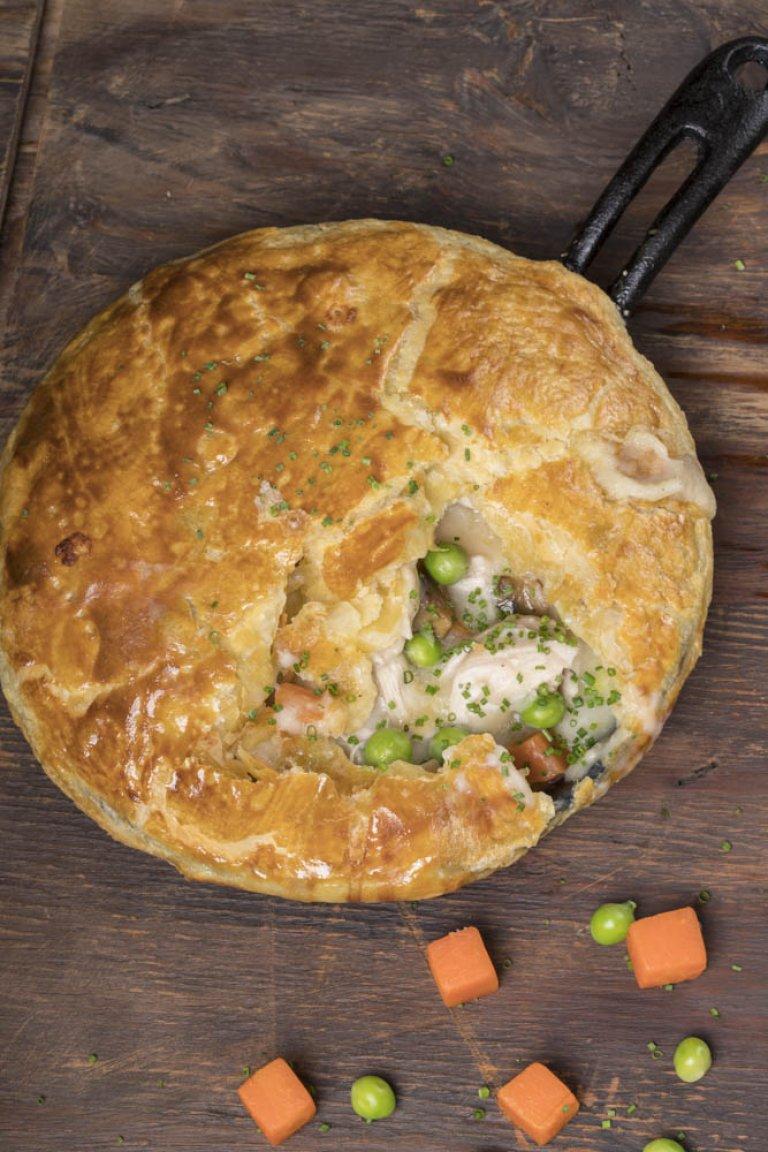 Κοτόπιτα «chicken pot pie»