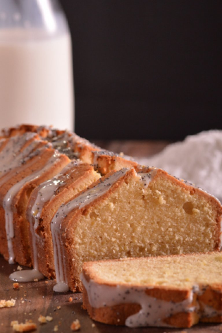 Pound cake με άρωμα λεμόνι