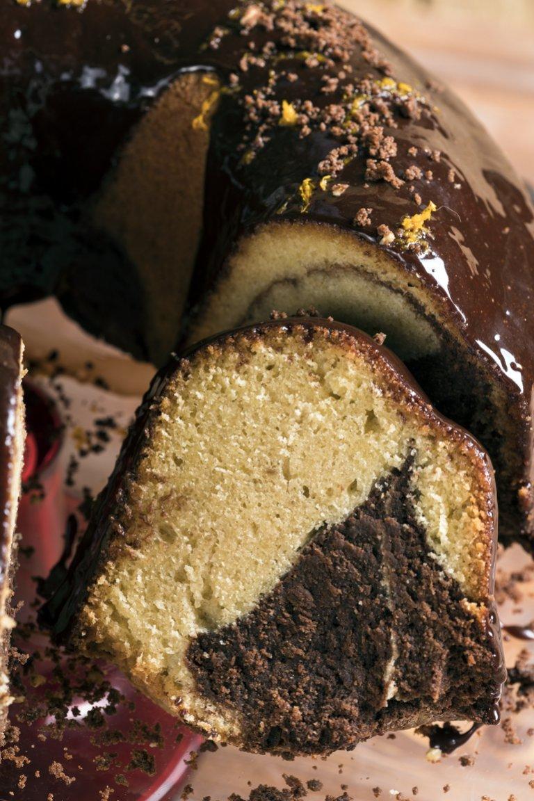 Κέικ βανίλια - σοκολάτα