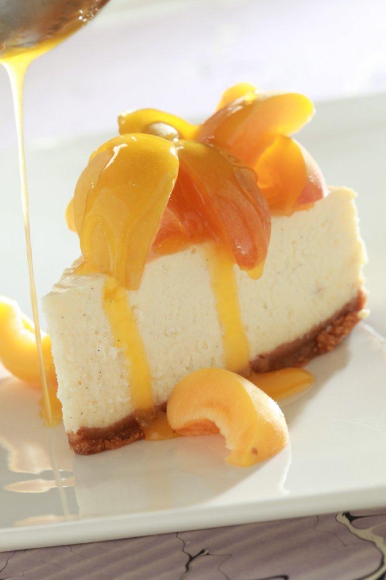 Cheesecake με βερίκοκο