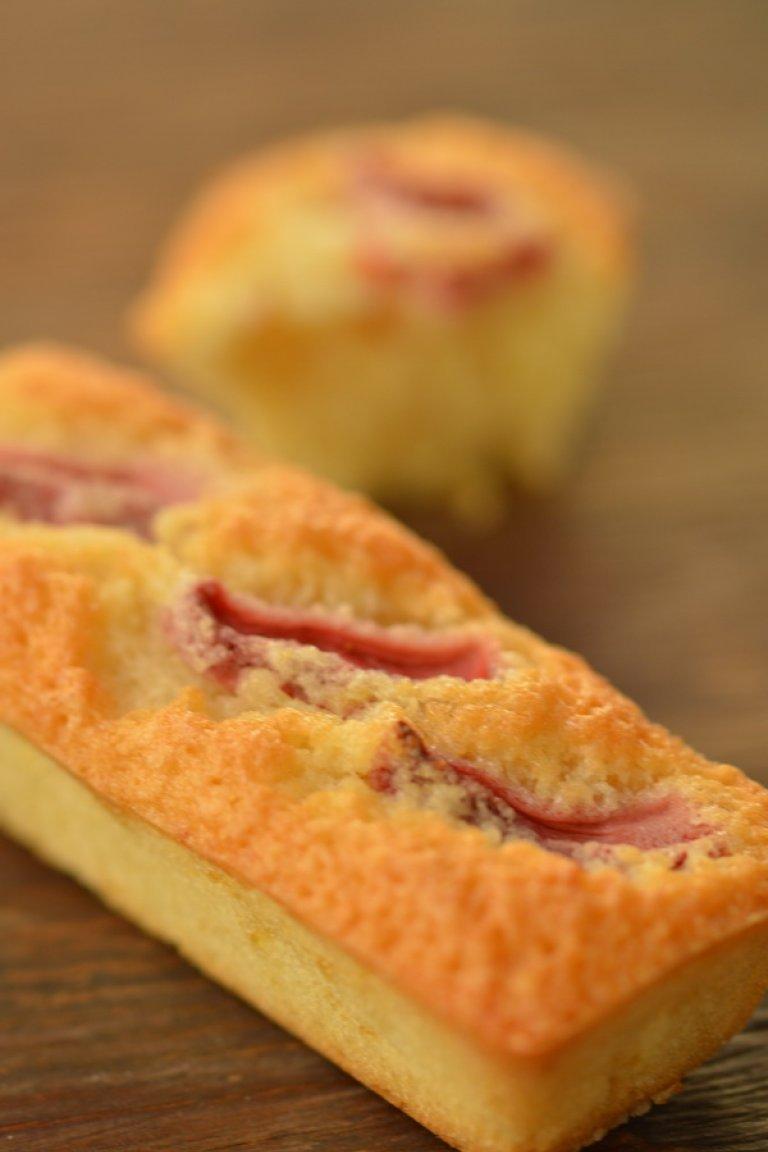 Φινανσιέ με φράουλα και λεμόνι