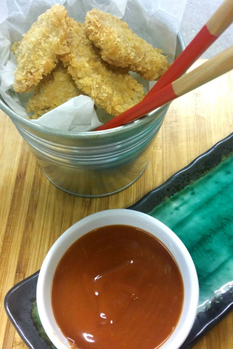 Χοιρινό katsu με σάλτσα tonkatsu