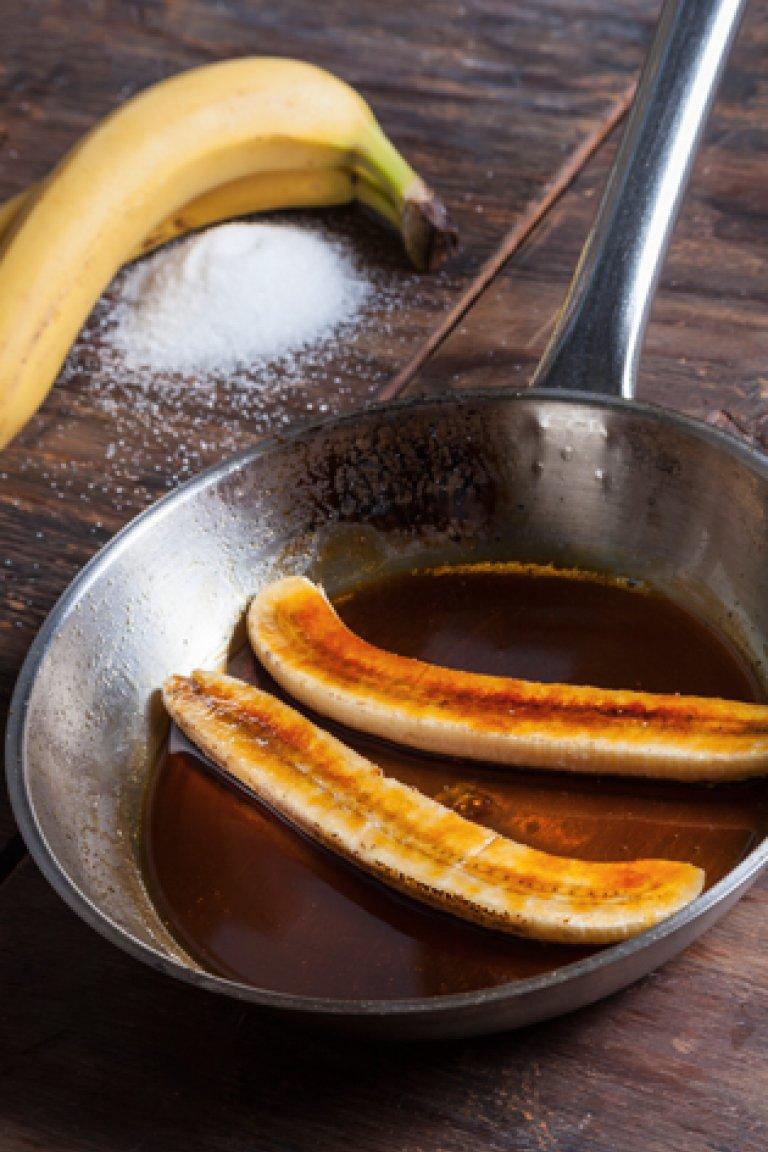 Καραμελωμένες μπανάνες