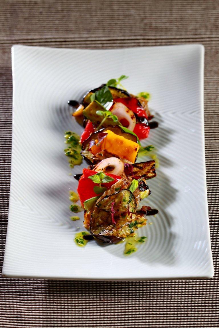 Mαριναρισμένα ψητά λαχανικά
