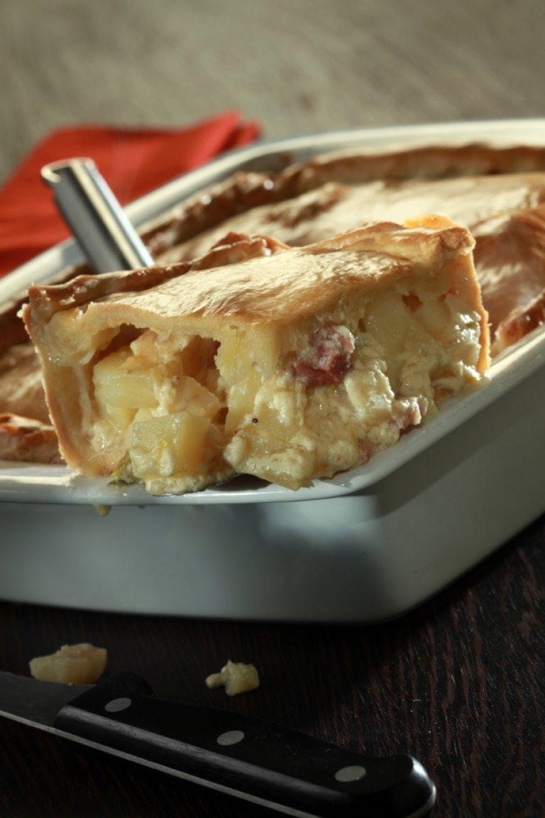 Πίτα με πατάτα, σύγκλινο και σελινόριζα