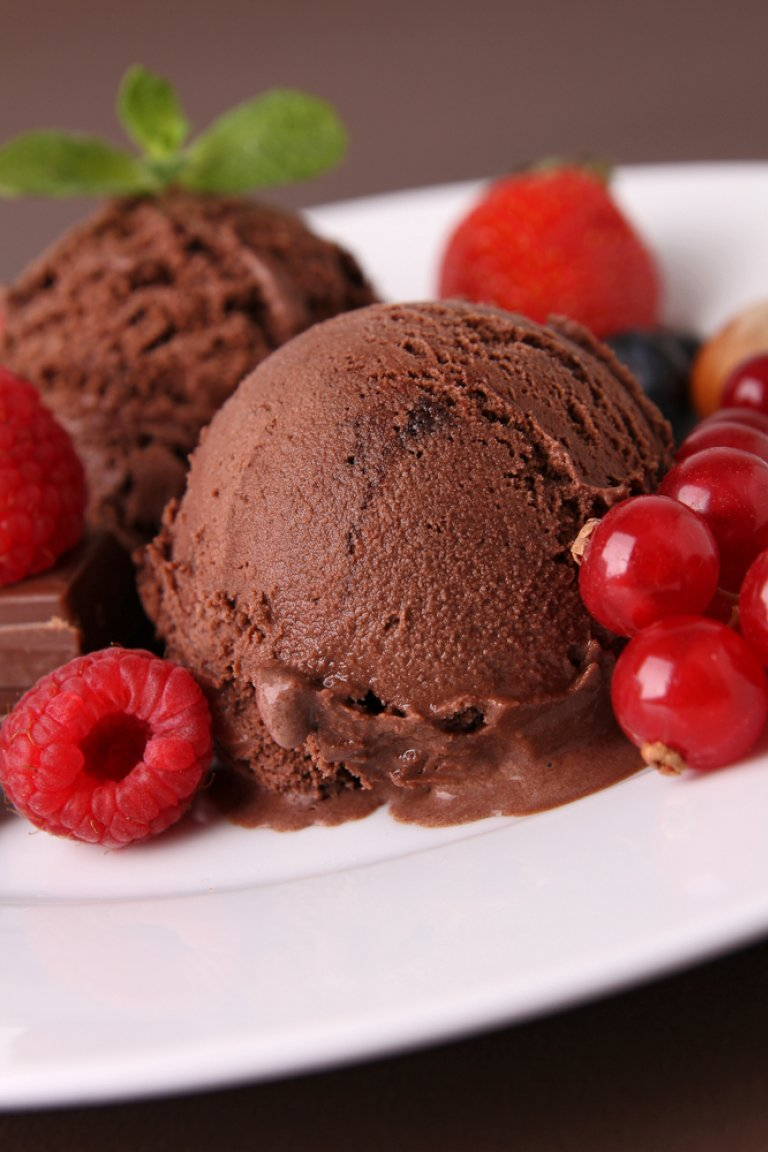Σορμπέ σοκολάτας