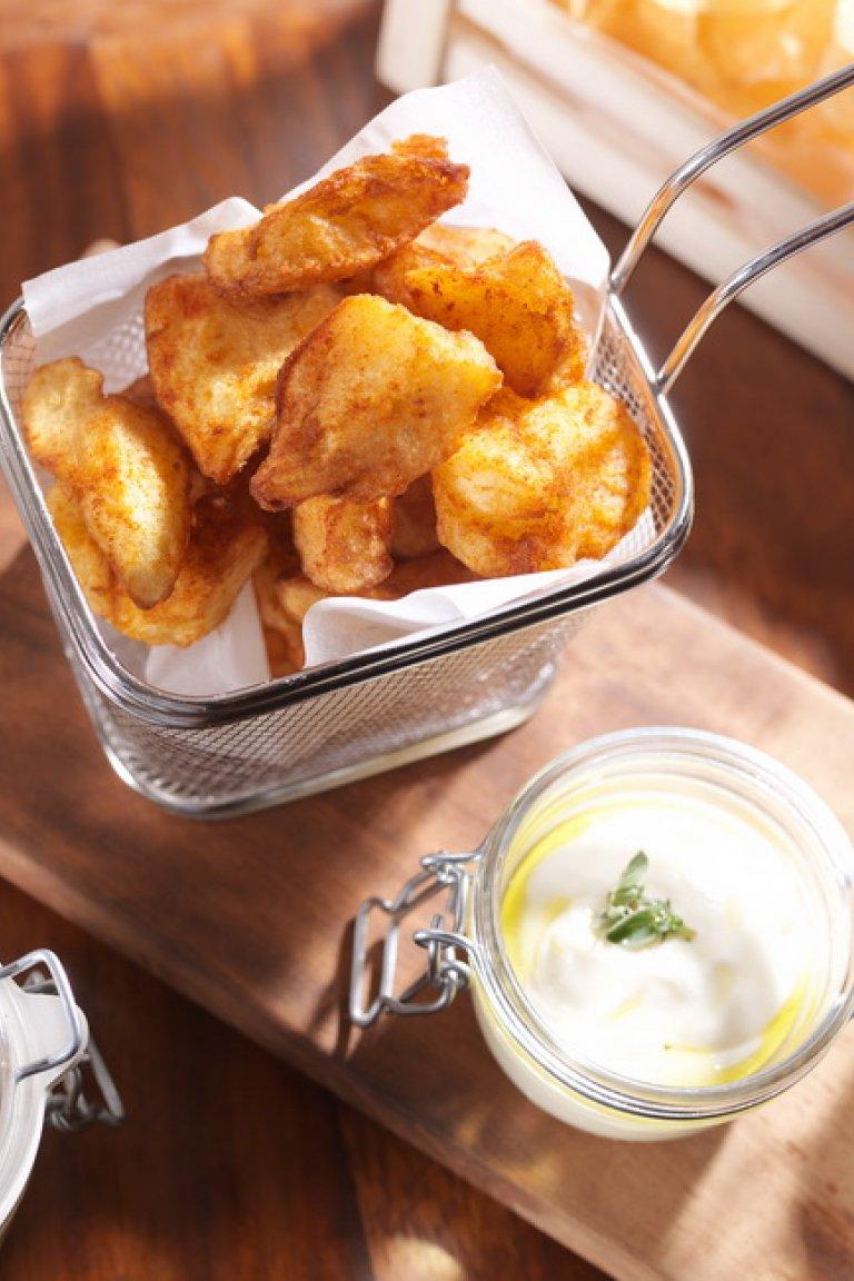 Πατάτες Τραγανές